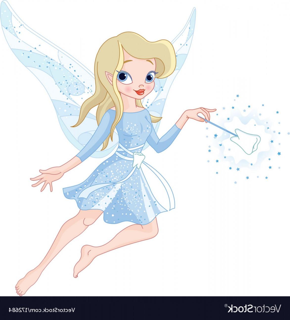1173x1296 Tooth Fairy With Magic Wand Vector Sohadacouri