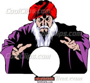 300x276 Magician Vector Clip Art