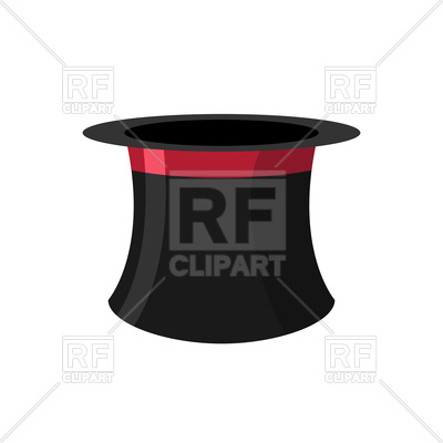 400x400 Black Hat Magician Vector Image Vector Artwork Of Objects