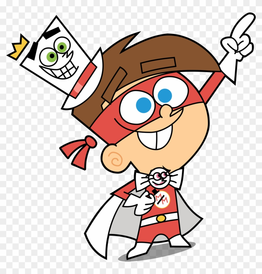 840x878 Timmy Turnerthe Masked Magician Vector