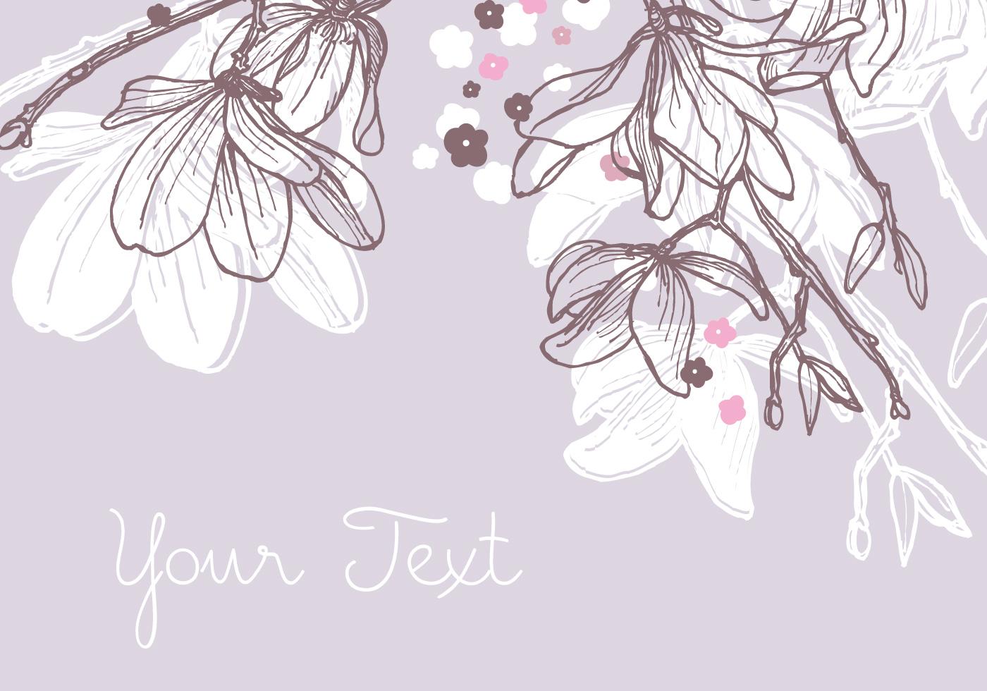 1400x980 Magnolia Background Design