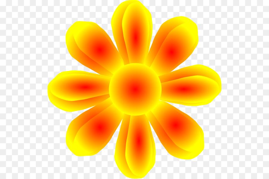 900x600 Flower Yellow Petal Clip Art