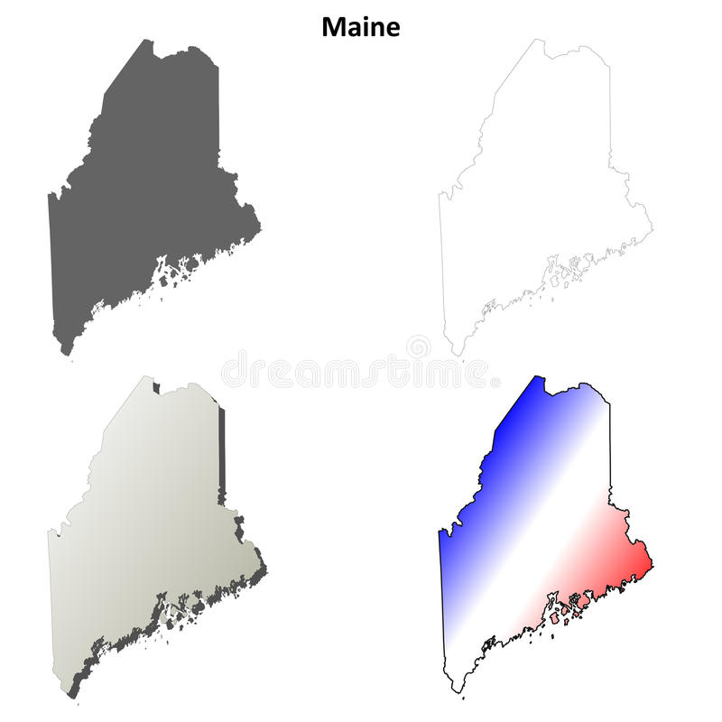 Maine Vector
