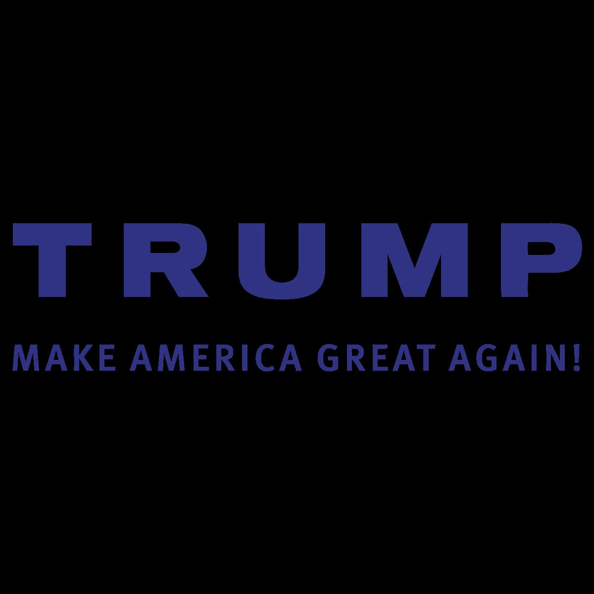 1200x1200 Trump Make America Great Again Logo Vector Slogan Free Vector