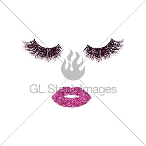 500x500 Makeup Vector Illustration Gl Stock Images