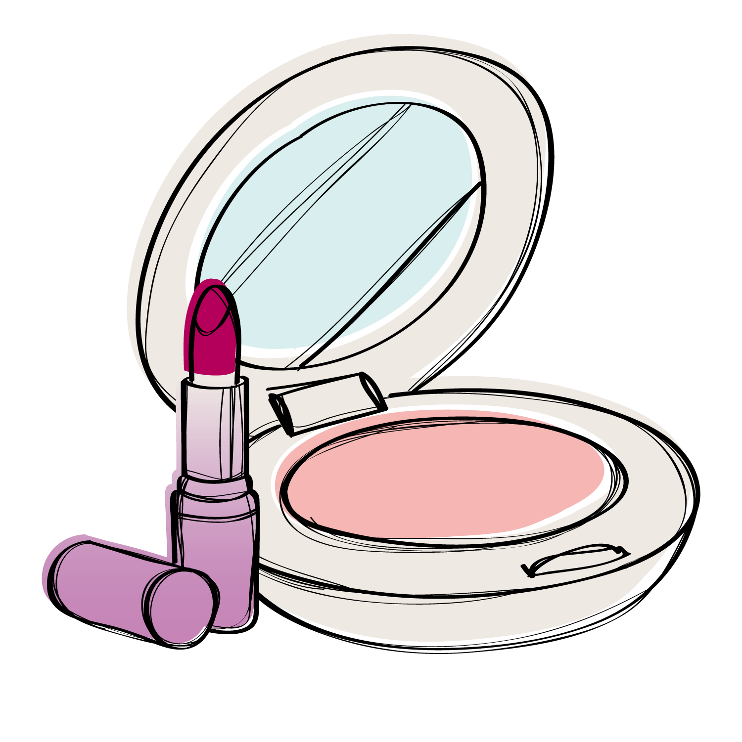 1500x1501 Collection Of Free Makeup Vector Foundation. Download On Ubisafe