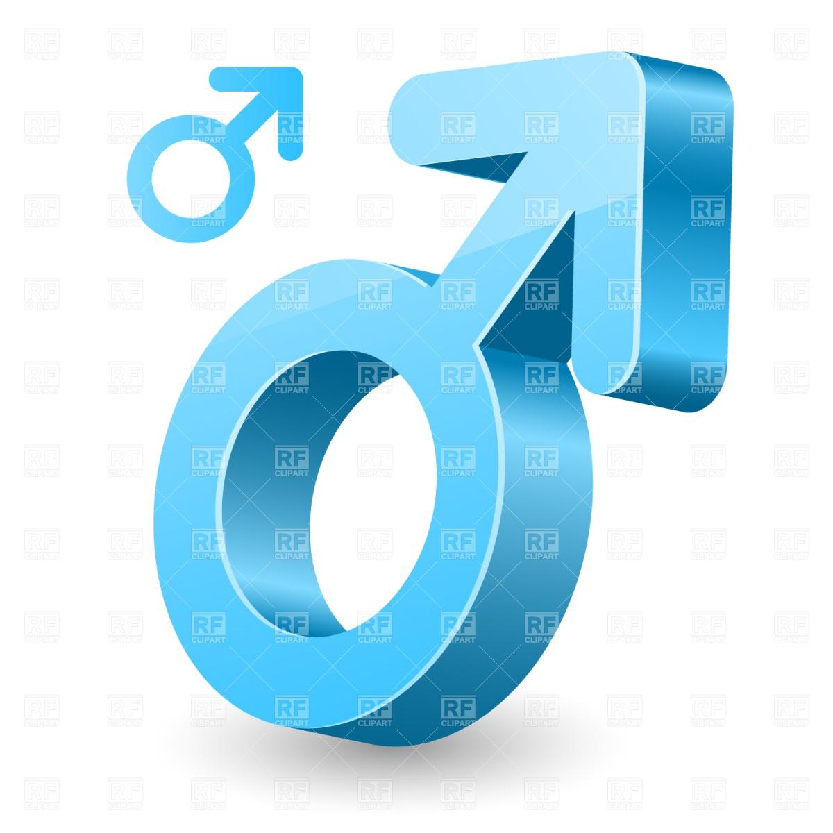 1200x1200 Male Gender Symbol Vector Image Vector Artwork Of Signs, Symbols