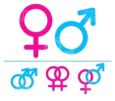 400x350 Male And Female Clip Art Male Female Girl Boy Woman Man Vector