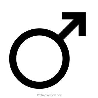 Male Symbol Vector