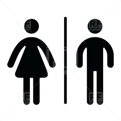 400x400 Male And Female Clip Art Male Female Symbol Vector Male And Female