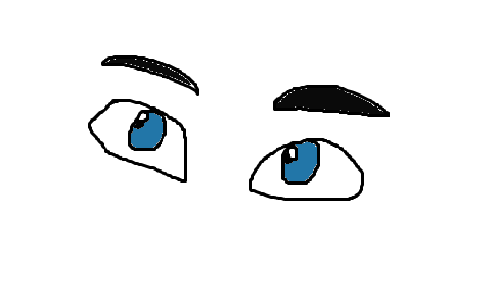 962x593 Cartoon Stock Vector Image, A Set Of Pair Of Outlandish Blue Man