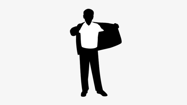 650x366 Man Standing, Man Vector, People Standing Silhouette Png And