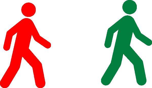 Man Walking Vector