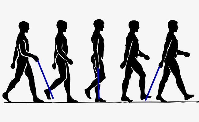 650x400 Walking Man Silhouette Collection, The Man, Walk, Sketch Png And