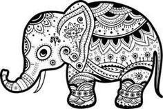 236x158 Resultado De Imagen Para Mandala Elephant Vector Art To Try