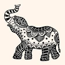 225x225 Resultado De Imagen Para Mandala Elephant Vector Autumn