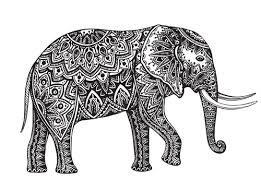 261x193 Resultado De Imagen Para Mandala Elephant Vector Mandalas