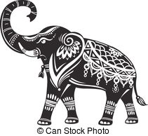211x194 Tribal Elephant Vector Clip Art Illustrations. 1,107 Tribal