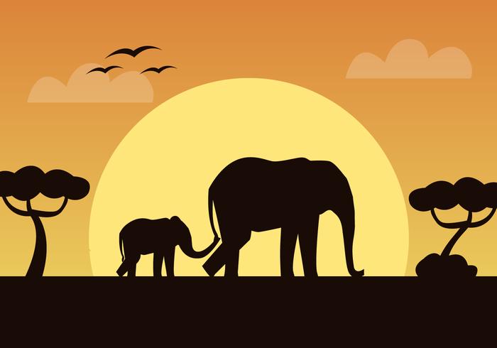 700x490 Elephant Free Vector Art