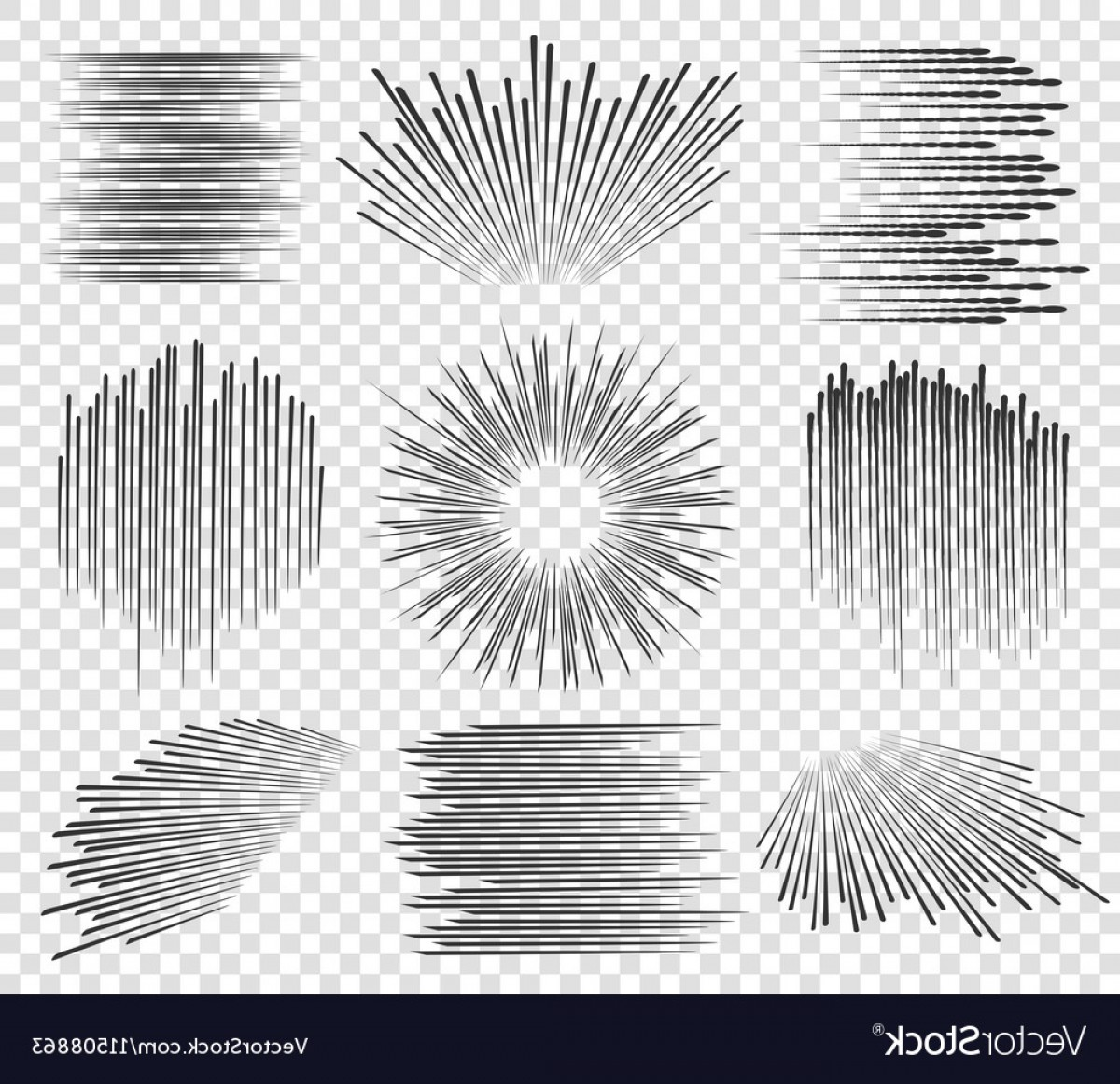 1200x1162 Fast Lines Manga Motions Vector Sohadacouri