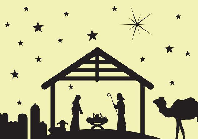 632x442 Manger Scene Nativity Scene Free Vector Download 149621 Cannypic