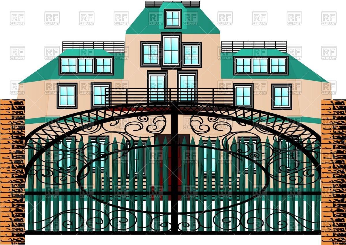 1200x850 Luxurious Mansion Behind Forging Gate