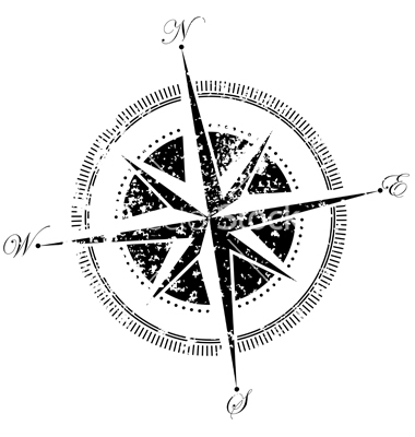 Map Compass Vector