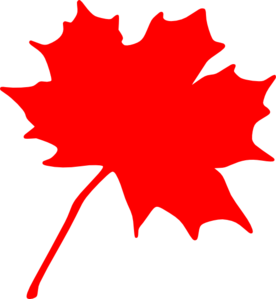 276x299 Maple Leaf Clip Art