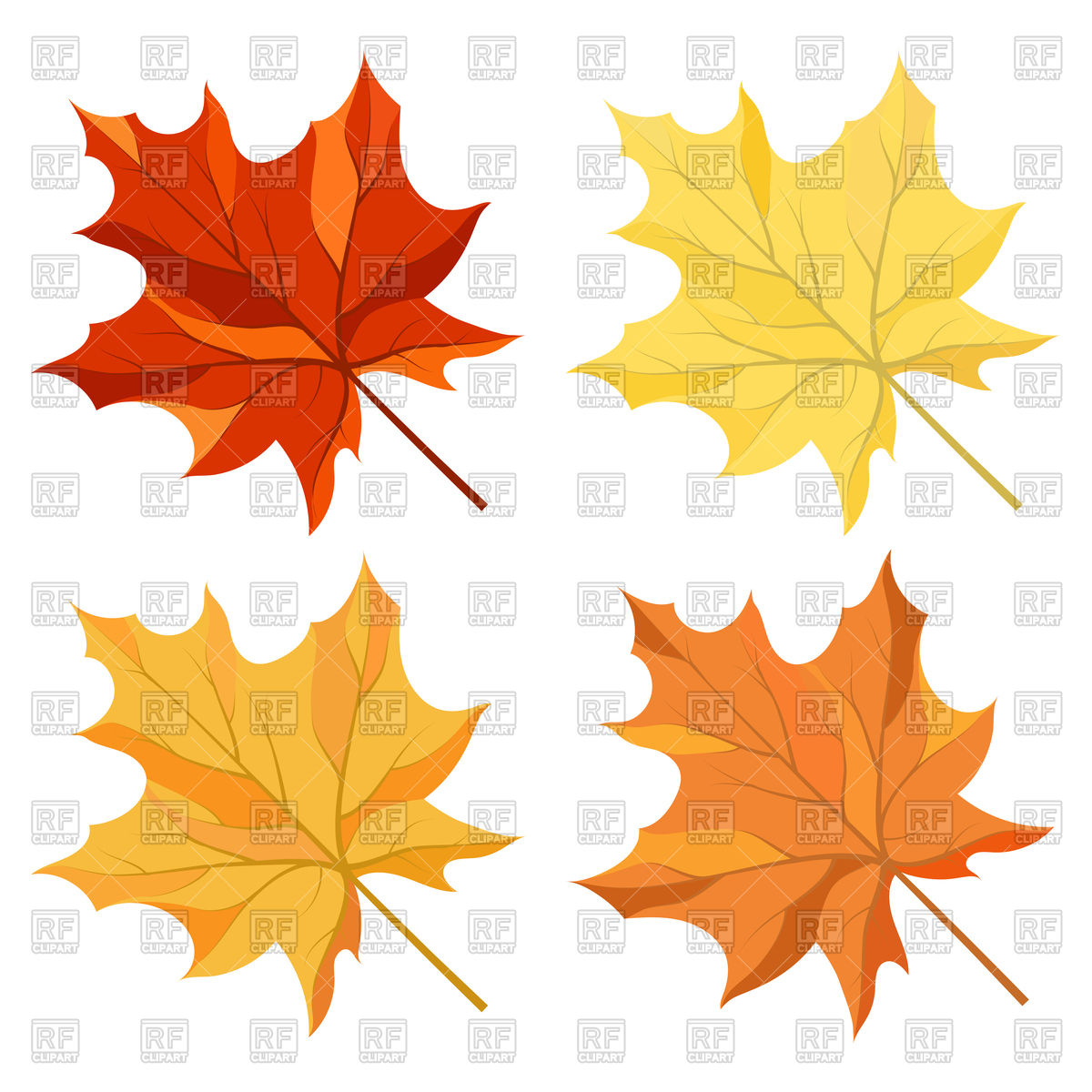 1200x1200 Autumn Maple Leaves Vector Image Vector Artwork Of Plants And