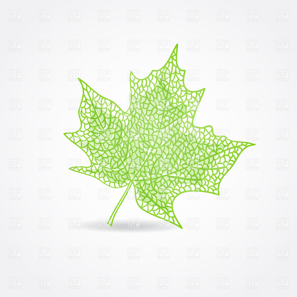 1200x1200 Green Maple Leaf Vector Image Vector Artwork Of Plants And