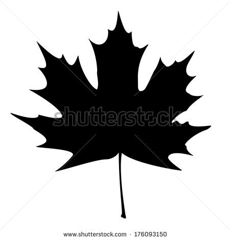 450x470 Maple Leaves Silhouette Clipart
