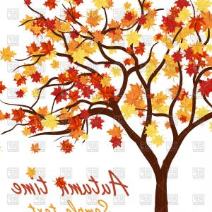 300x300 Autumn Maple Tree Vector Clipart Orangiausa