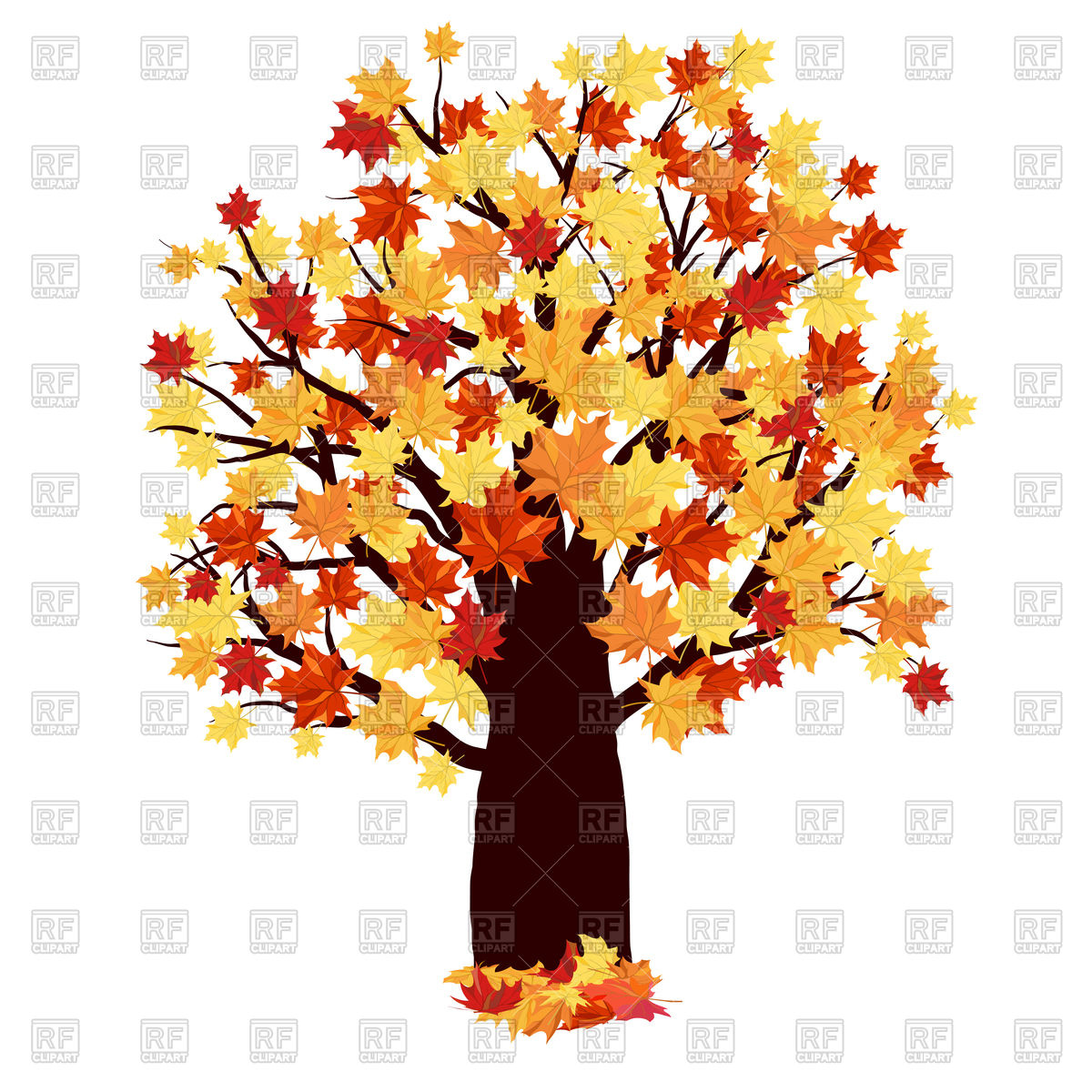 1200x1200 Maple Tree Vector Image Vector Artwork Of Plants And Animals