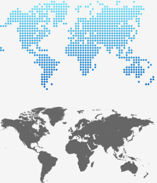316x368 Gray World Map Design Vector Png Images, Backgrounds And Vectors