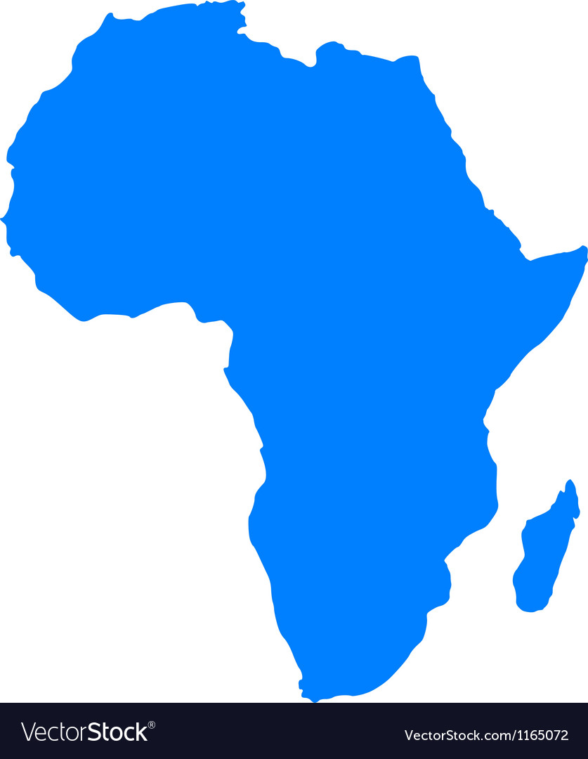 837x1080 Africa Map Vector Stylish Design Map Of Africa Royalty Free Vector