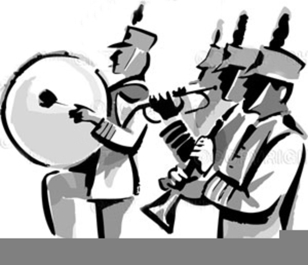 600x516 Marching Band Clipart