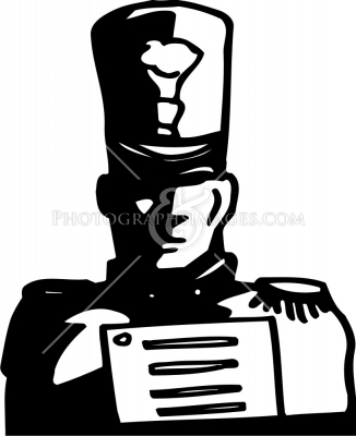 326x400 Marching Band In Celebration Parade Royalty Free Cliparts, Vectors