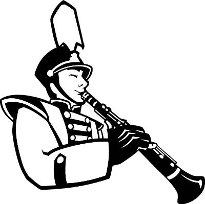 400x399 Musician Clipart Marching Band 3732533