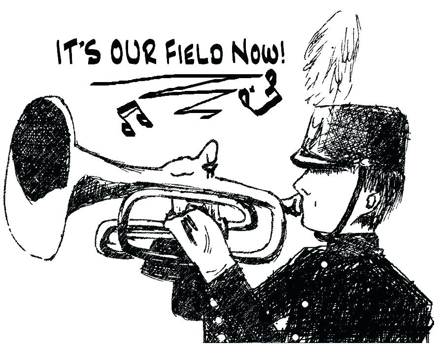 889x700 Coloring Pages Marching Band Marching Band Silhouette Marching