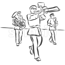 260x260 Download Logo Marching Band Vector Clipart Marching Band Royalty Free