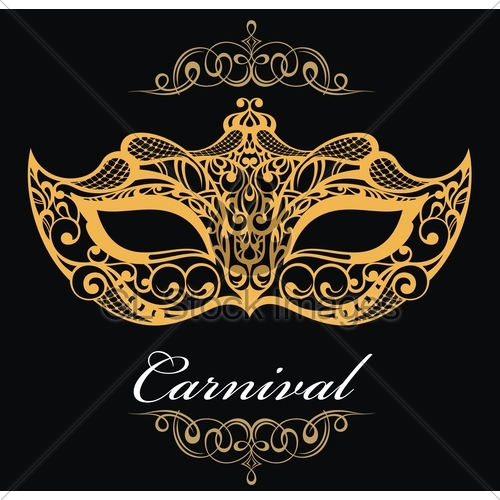 500x500 Mardi Gras Vector Background Gl Stock Images