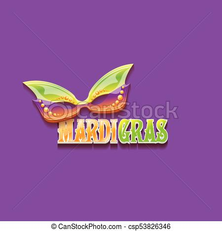 450x470 Vector New Orleans Mardi Gras Vector Background With... Eps Vector