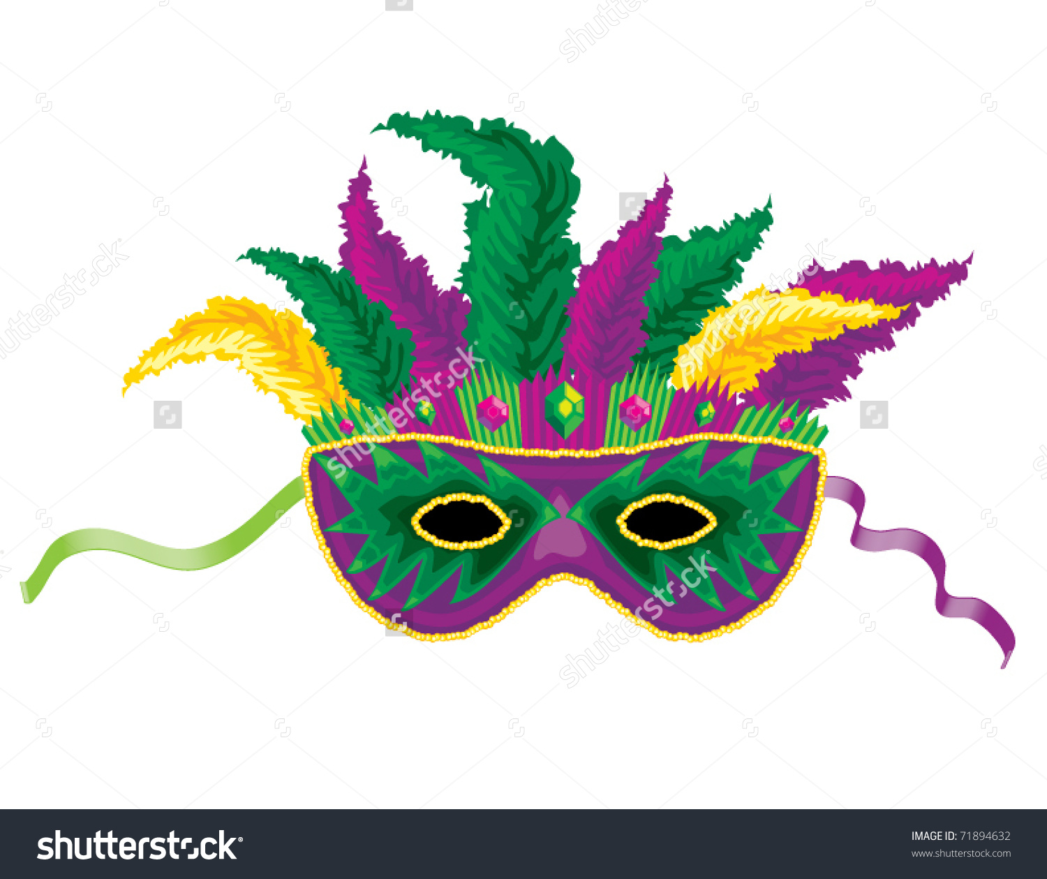 1500x1259 Stock Vector Mardi Gras Mask 71894632 Our Lady Star Of The Sea