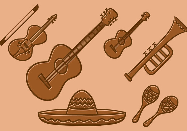 632x443 Mariachi Vector Free Vector Download 386323 Cannypic