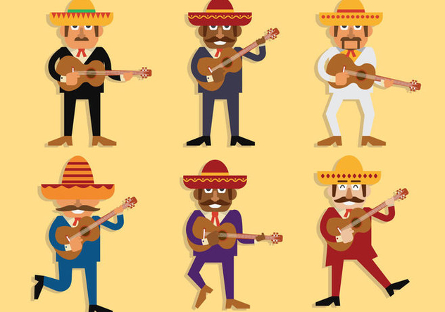 632x443 Mariachi Vector Free Vector Download 391835 Cannypic