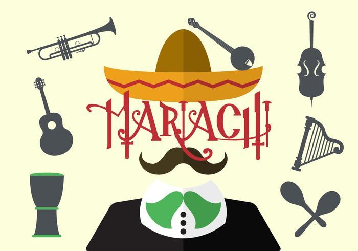 700x490 Vector Illustration Of Mariachi
