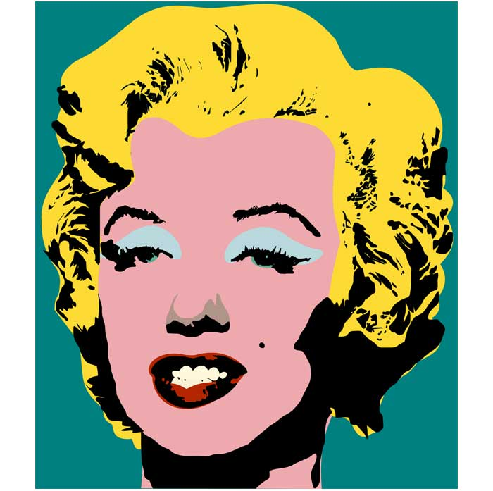 700x697 Andy Warhol Marilyn Monroe Pop Art Pop Art Andy Warhole Marilyn
