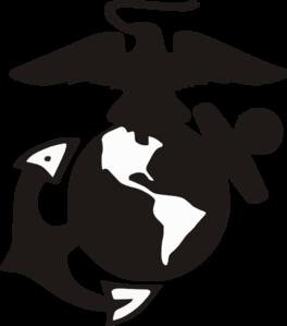 264x299 Marine Logo Clip Art