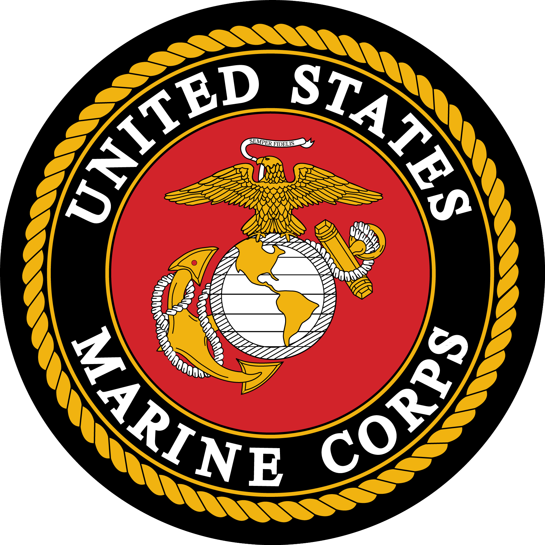 1789x1789 Collection Of Free Vector Logos Marine Corps. Download On Ubisafe