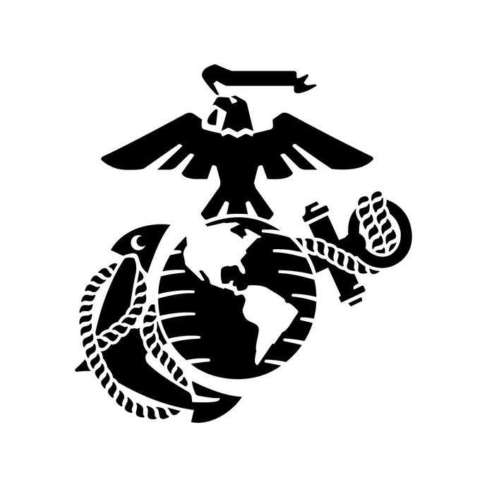690x690 Eagle Globe Anchor Usmc Marine Corps Graphics By Vectordesign